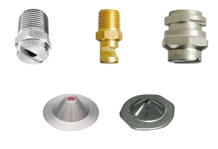 Nozzles for former section