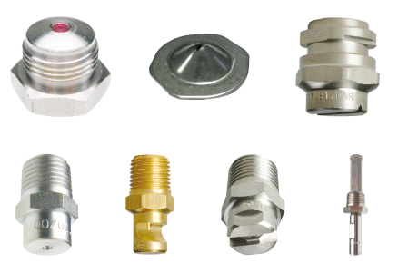 Nozzles for press section